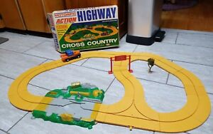 1966 IDEAL TOYS MOTORIFIC CROSS COUNTRY RACING in BOX, STILL WORKS