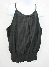 Dollhouse Girl's Sleeveless Top Black Size 7 8