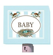 "Oopsy Daisy Baby Night Light, Blue/Pastel, 5"" x 4"