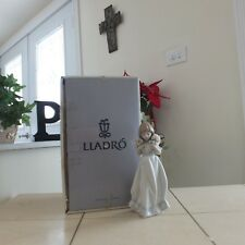 Lladro Spring Bouquet # 7603 Mint w/ Box & New Display Stand Fast Shipping!