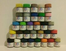 "Tamiya ""X"" acrylic paint 23ml. 32 pcs bundle."
