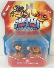 Mini Skylanders Trap Team series : Small Fry & Weeruptor *** NEW ***