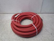 "Goodyear 1025-0750R-50-Crs 3/4"" Id x 50' Red Rubber Air Tool Hose 300 Psi"