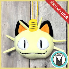 Japan Pokemon Pocket Monster Meowth Plush Coin Purse Soft Wallet Bag Kawaii Cute