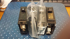 SET of  4 assorted - 1 POLE CIRCUIT BREAKERS BR130 30 amp and BR115 15 amp