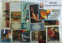 Europe 400 Stamps Lot I (large & attractive, mint) (M01)