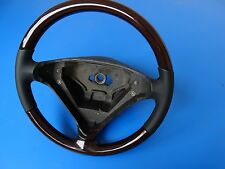 1 Mercedes SLK w171 Holzlenkrad Leder Holz Lenkrad wheel