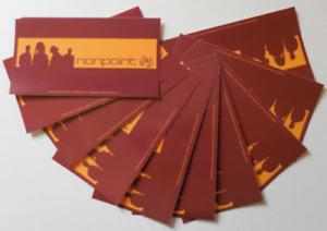 Nonpoint 2002 Musique Rock Métal Bande Vinyle Autocollant Ensemble De 10