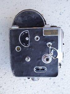 Early Bolex 16mm Non Reflex Cine Camera Body For Parts or Repair - Worn Beat up