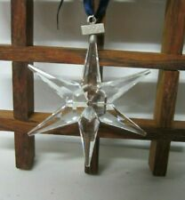 Swarovski 1993 Annual Christmas Large Snowflake Ornament