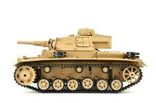 RC Panzer Tauchpanzer III 1:16 Heng Long Rauch Sound Schussfunktion 2.4 Ghz LED