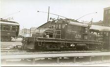 6B784 RP 1958 CNR CANADIAN NATIONAL RAILROAD LOCOMOTIVE #228 QUEBEC CITY PQ
