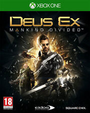 Deus Ex: Mankind Divided - Day One Edition (Xbox One)  NEW AND SEALED - IMPORT