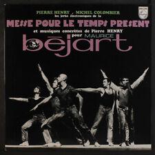 PIERRE HENRY & MICHEL COLOMBIER: Messe Pour Le Temps Present LP (France, reissu