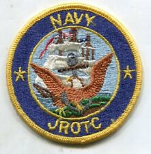 US Navy JROTC USN ROTC Reserve Officer Training Corps Uniform Sleeve Patch