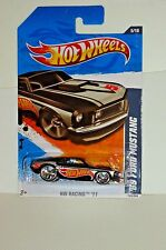 2011 HOT WHEELS RACING '11 - '69 FORD MUSTANG - 3rd Variant - Black