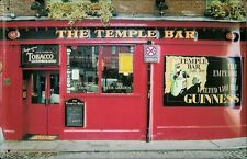 TEMPLE BAR Vintage Metal Pub Sign | 3D Embossed Steel | Home Bar