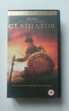 Gladiator vhs widescreen version good condition