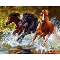 5D DIY Full Drill Diamond Painting Horse Cross Stitch Embroidery Mosaic Kit