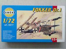 Smer 0877 Fokker Dr. I 1:72 Neu & eingetütet in Originalverpackung