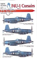 EagleCal Decals 1/48 VOUGHT F4U-1 CORSAIR American WWII Fighter Part 1