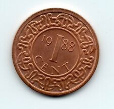 Suriname - 1 Cent 1988 UNC