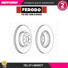 DDF1298 Coppia disco freno ant Fiat-Opel (MARCA FERODO)