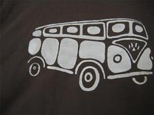 VW Volkswagen Bus/Van Men's LG Short-sleeve T-Shirt,Kerri's Creations, Dark Grey