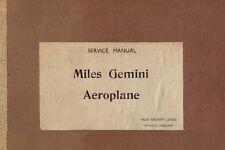MILES M.65 GEMINI IA - SERVICE MANUAL / PUBLICATION No. C.11 / october 1946