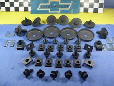 67 68 69 70 71 72 Chevy Chevelle NOVA Fender WheelHouses Bolts Correct Markings