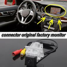 Car Rear View Camera Original Screen for Mercedes Benz C E W204 W212 W207 C207