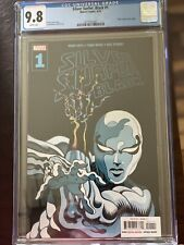 Silver Surfer: Black #1, Moore Cover, CGC 9.8