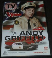 THE ANDY GRIFFITH SHOW DVD VOLUME 3 -3 CLASSIC SHOWS- (ALL REGION)