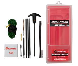 KleenBore DUAL KLEEN Rod & Pull Through Rope Cleaner 5.56MM / .223 Cal.