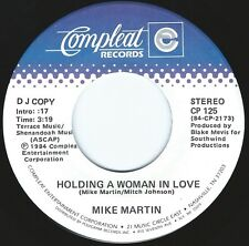 MIKE MARTIN Holding A Woman In Love ((**NEW 45 DJ from 1984**))