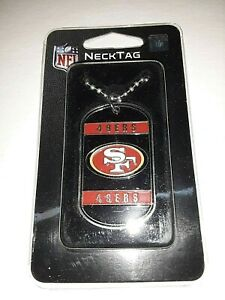 San Francisco 49ers NFL Dog Tag Necklace