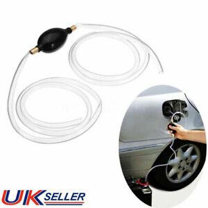 Fuel Primer Gas Petrol Diesel Liquid Hand Pump Bulb PVC Syphon 8mm Oil Drain HOT