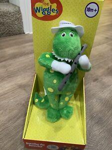 "Dorothy the Dinosaur 10"" plush stuffed doll from The Wiggles NIB"