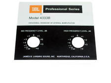JBL Style Replacement Foil Badge for 4333B Speaker