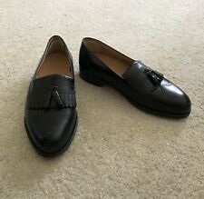Stafford Executive Mens Tassel Slip On Leather Loafers 10