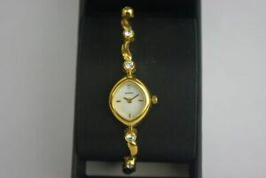 Ladies Gold Sekonda Watch Gold Bangle Style Strap 42366