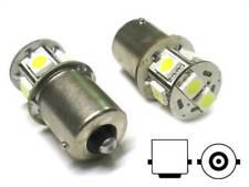 Lampada Led Canbus BA15S G18,5 R5W R10W No Errore Bianco 12V Luci Posizione