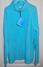 NWT Columbia XL Girls  Glacial Fleece Half Zip Pullover AG6987-404 Miami Blue