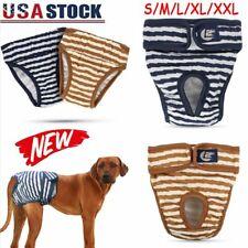 Female Male Dog Diaper Washable Pet Training Pants Reusable Physiological Pants