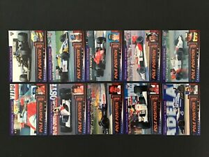 1995 FUTERA POLE POSITION FORMULA ONE 10 CARD SET - F1 TRADING CARDS / 3000