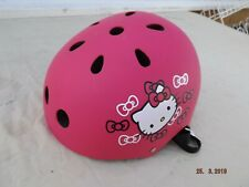 HELLO KITTY BMX HELMET,SKATEBOARD,CYCLING,PINK,VENTED,PADDED,S 53/55 CM,CLEAN