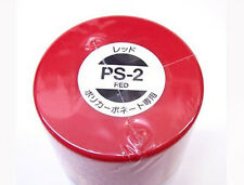 Tamiya PS-02 RED Spray Paint Can FOR POLYCARBONATE 3.35 oz. (100ml) 86002