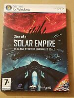 Sins of a Solar Empire (PC: Windows, 2008) includes disk and booklet