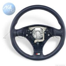 Audi A3 8P A4 B5 B6 A6 C5 A8 S-line INDIGO BLUE Leather Steering Wheel