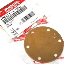 GENUINE YANMAR Water Pump Cover Plate -  2GM20 - 3GM30 - 2QM15 -  104211-42080